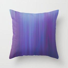 Violet Chromatic Throw Pillow