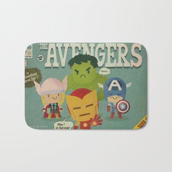 avengers fan art Bath Mat