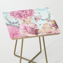 Marie Antoinette Wallflower Side Table