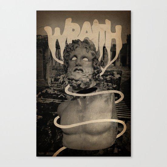 WRAITH - Skin & Soul Divide Canvas Print