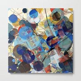 Interlaced bubbles Metal Print