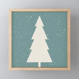 Xmas Tree Framed Mini Art Print