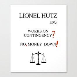 Lionel Hutz Canvas Print