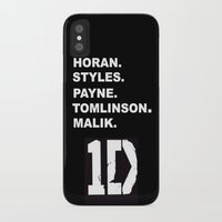 one direction iPhone & iPod Cases featuring One Direction by amy.