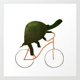 Reason ONE for using bike. Art Print