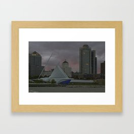 Milwaukee Art Museum Framed Art Print