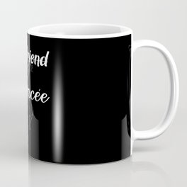 Girlfriend Fiancee Engagement Couples Coffee Mug