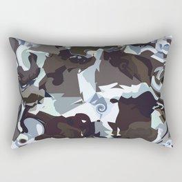 abstract earth Rectangular Pillow