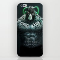 bane iPhone & iPod Skins featuring Bane by Midu