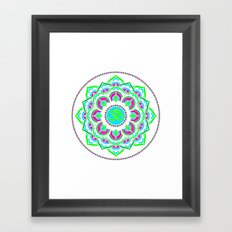 Spring Mandala | Flower Mandhala Framed Art Print