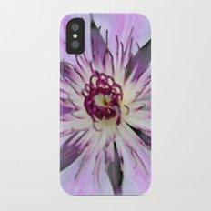 Desert Flower iPhone X Slim Case