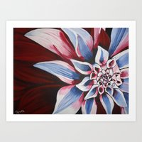 american beauty Art Prints featuring American Beauty by TRekito