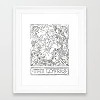 valentines Framed Art Prints featuring Valentines by Ilse Gabriela