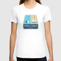 league T-shirts featuring Water League by Julie Pinzur