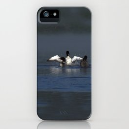 loon wave iPhone Case