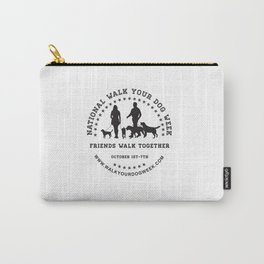 Friends Walk Together Carry-All Pouch