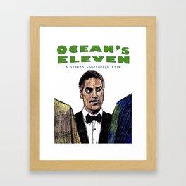Ocean's Eleven Framed Art Print