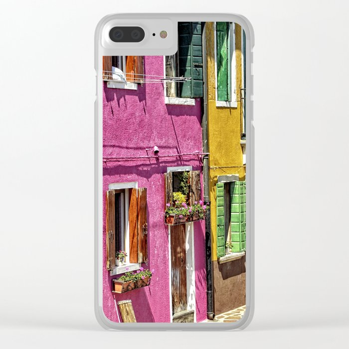 Burano, Venice - Italy Clear iPhone Case