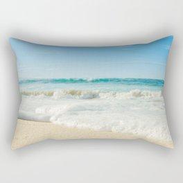 Aloha Kapukaulua Beach Rectangular Pillow