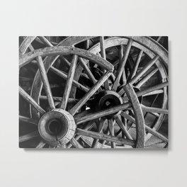 Wheel Rot Metal Print