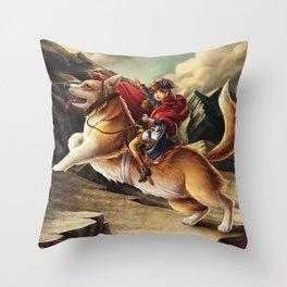 Napoléon Tseumpfeuh Throw Pillow