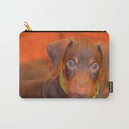 Misha the doberman Carry-All Pouch