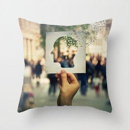 Alzheimer Throw Pillow