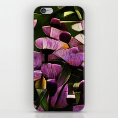 Abstract Wldflowers iPhone & iPod Skin