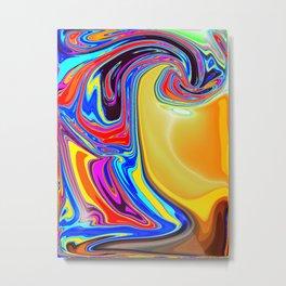 Mind Flow Metal Print