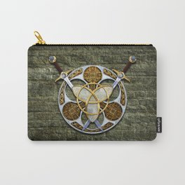 Celtic Shield and Swords Carry-All Pouch