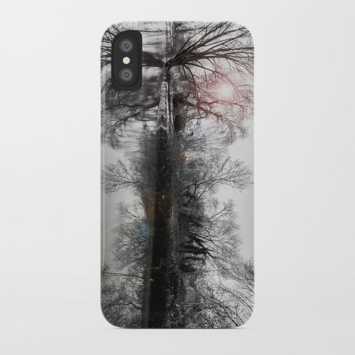 TREE-FLECTION iPhone Case