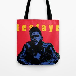 The Weeknd: Blue Period Tote Bag