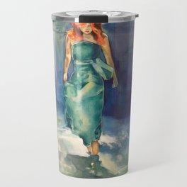 Underwater Figure Travel Mug