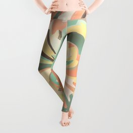 Digital watercolor Leggings