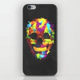 Meduzzle: Colorful Geometry Skull iPhone Skin