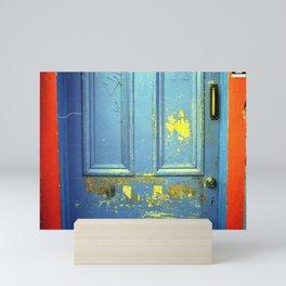 Primary Colors Door Mini Art Print