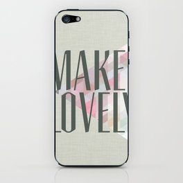 Make Lovely // Stone iPhone Skin