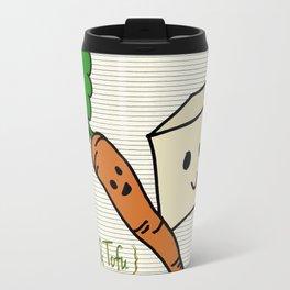 {Carrots & Tofu} Travel Mug