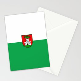 Flag of Ljubljana Stationery Cards
