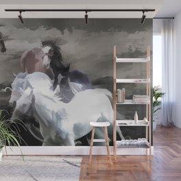 Breaking Free  -  Wild Horses Wall Mural