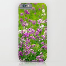 Among the Wildflowers iPhone 6s Slim Case