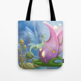 Dragonfly Time Tote Bag