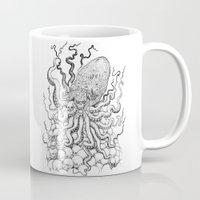 cthulhu Mugs featuring Cthulhu by Jose Solano
