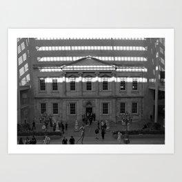Metropolitan Museum of Art Art Print