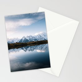 Montblanc peaks Stationery Cards
