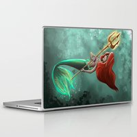 ariel Laptop & iPad Skins featuring Ariel by Laia™