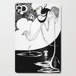 The Climax  - By Aubrey Beardsley - Vintage Art Nouveau Print Cutting Board