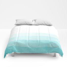 Dip Dye -Blue Comforters