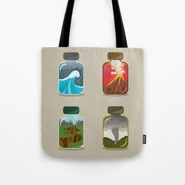 Disaster In A Jar Tote Bag