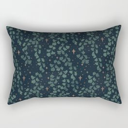 Stars though the ferns Rectangular Pillow